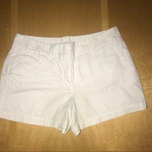The Loft White Shorts